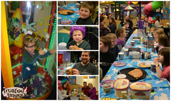 Little Man Turns 5 with a Chuck E Cheeses Birthday Party Frosted