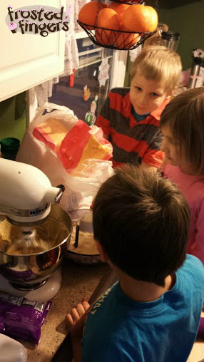 Making Cookies for Cub Scouts