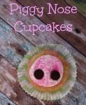 Piggy Nose Pomegranate Cupcakes