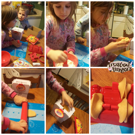 Steps for Fortune Cookie Maker, Kids in the Kitchen