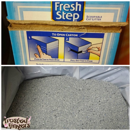 Fresh Step®  Extreme Odor Control Scoopable Litter  #FreshStepExtreme
