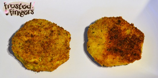 Fried Eggplant Parmesan