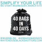 #40BagsIn40Days Challenge Wrapup