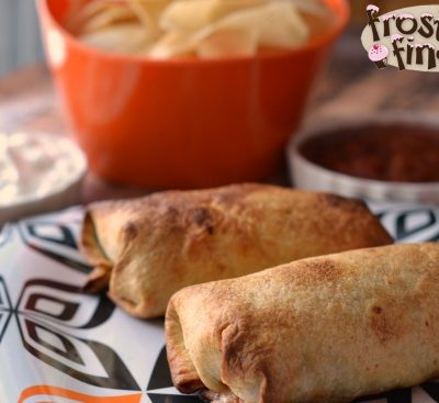 Oven Baked Chimichangas Recipe