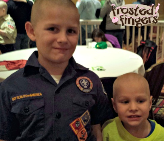 Boy's After Pics from St. Baldrick's