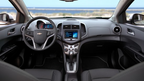 Interior of the Chevy Sonic #Review