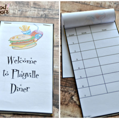 Kids in the Kitchen: Playing Diner