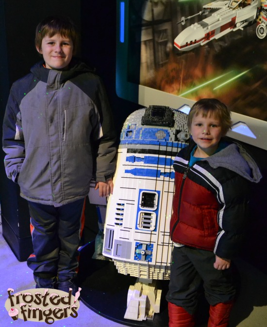 R2D2 at Legoland Discovery Center Schaumburg