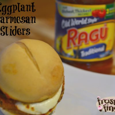 Eggplant Parm Mini Sliders Recipe A #NewTraDish