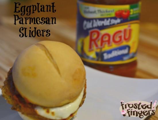 Ragu Eggplant Parm Sliders