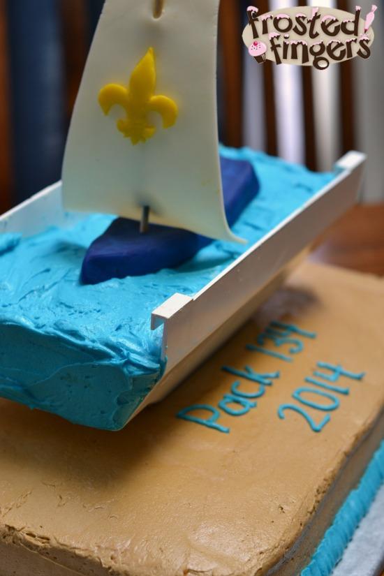 Raingutter Regatta Cake