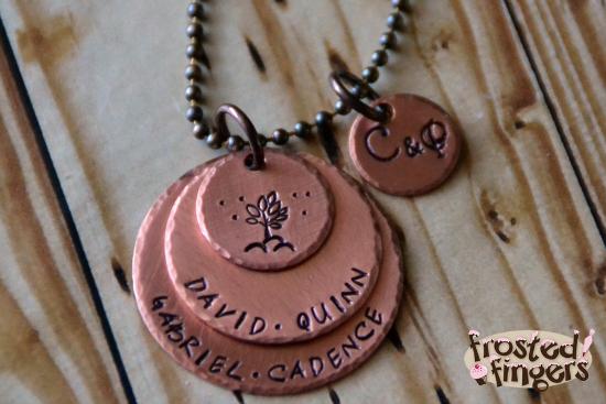 Bama + Ry Family Tree Necklace