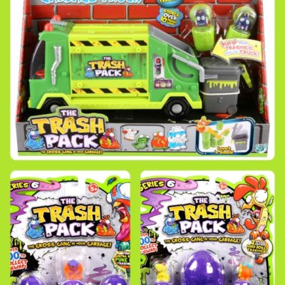 Trash Pack Review and Giveaway- Win an Easter Basket!