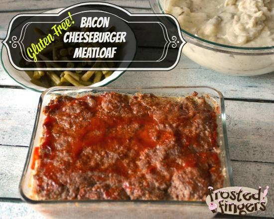 Gluten Free Bacon Cheeseburger Meatloaf #UdisGlutenFree