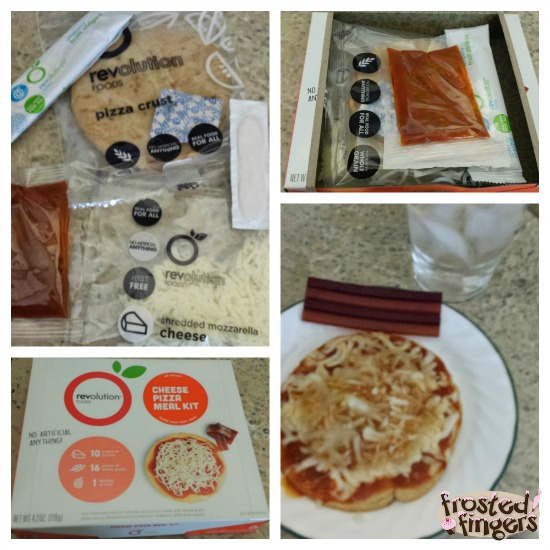 Revolution Foods Cheese Pizza