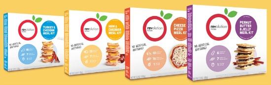 Revolution Foods Grab and Go Meals