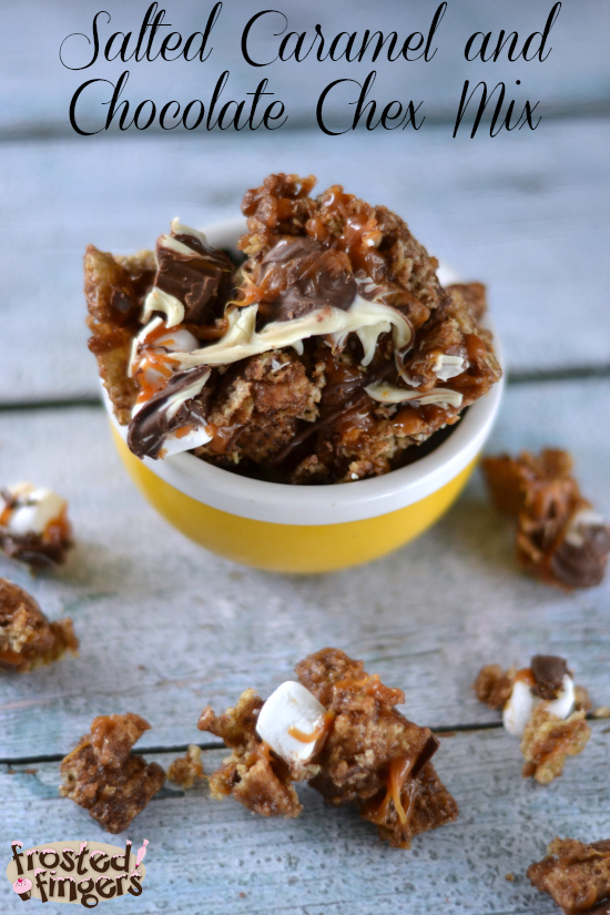 Salted Caramel and Chocolate Chex Mix