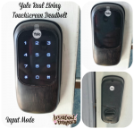 Yale Real Living Key Free Deadbolt