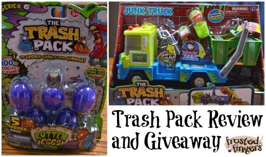 Trash Pack Review and Giveaway #Easter