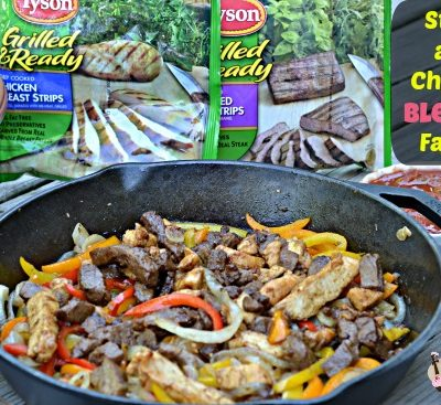 Grilled Steak and Chicken Fajitas