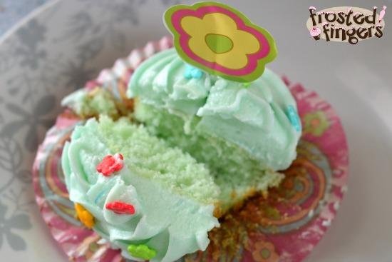 Blue Raspberry Lemonade Cupcakes