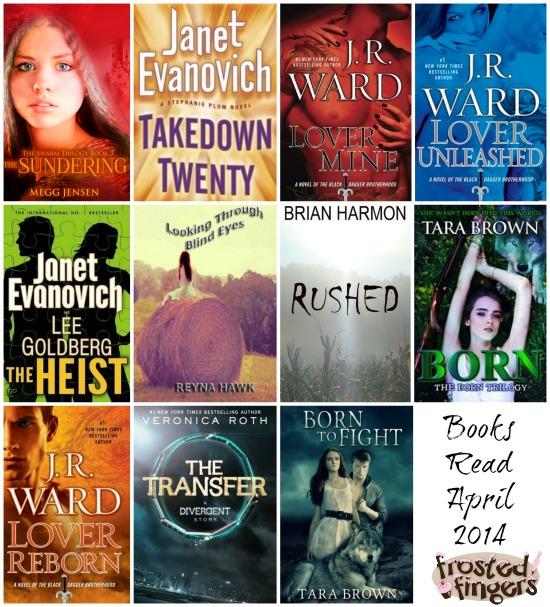 Books I read in April 2014