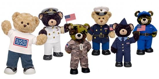 Huggable Heroes with Build-A-Bear