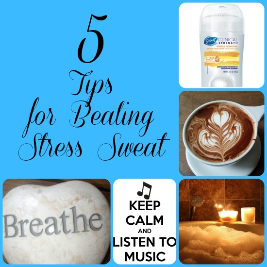 5 Tips for Beating Stress Sweat