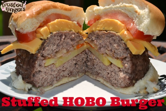 Stuffed HOBO Burger