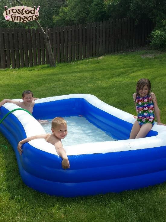 Swimming Pool Fun #SummerGoodies