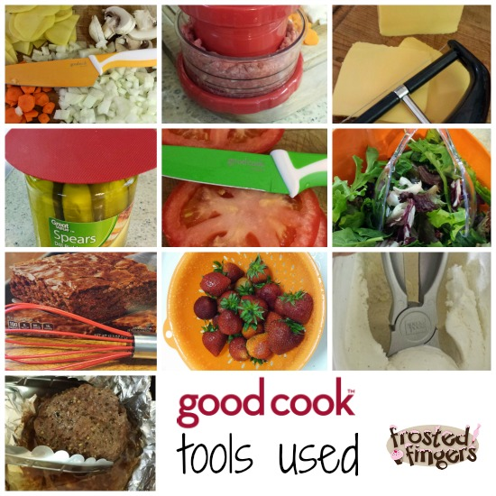 Tools used for Good Cook Recipe