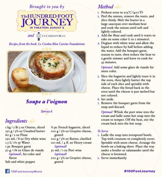 French Onion Soup #Recipe #100FootJourney