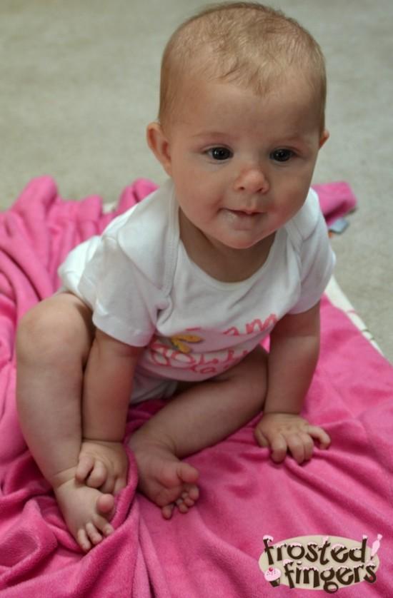 Baby Q Sitting up