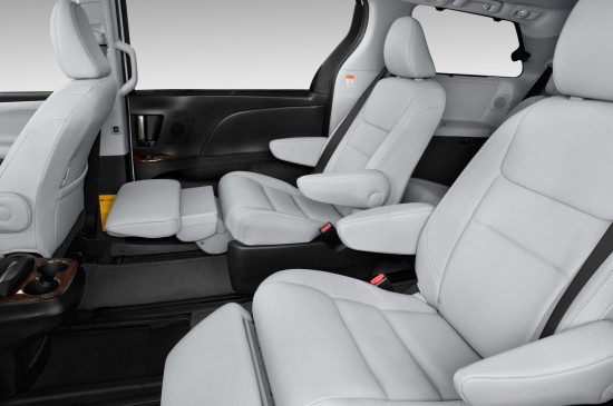 2015 Toyota Sienna Rear Seats #SwaggerWagon