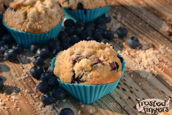 Blueberry Muffin Recipe #BlueberryMuffinDay