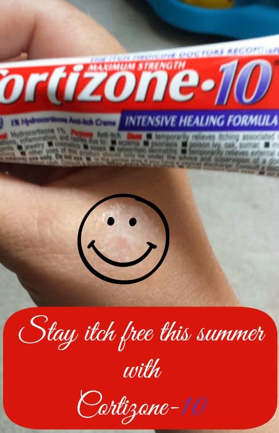 Stay Itch Free with Cortizone-10 #Cortizone10 #MC
