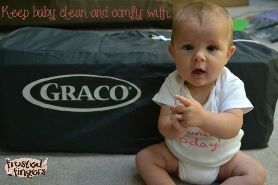 Graco Pack n Play Clean and Comfy