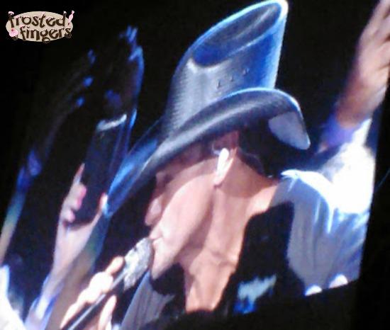 Tim McGraw Singing #APConcertSeries