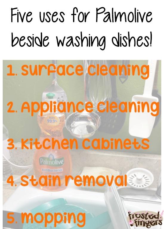 Five Dish Soap Uses #Palmolive25Ways #cbias