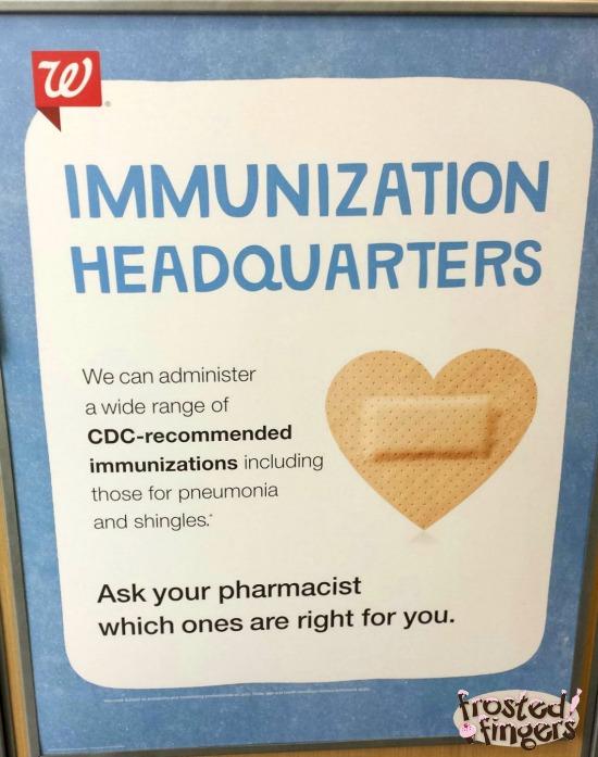 Immunization Headquarters at Walgreens #GiveAShot #cbias