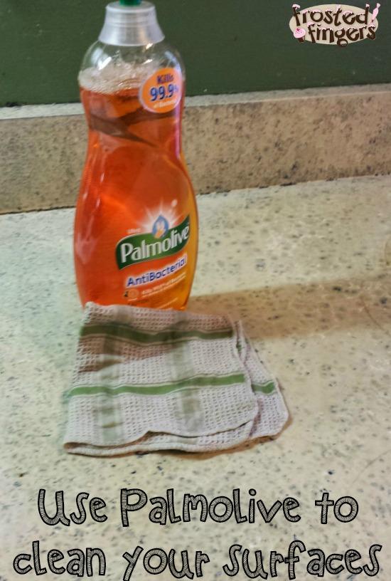 Use Palmolive to clean surfaces #Palmolive25Ways #cbias