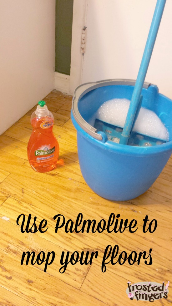 Mop your floors with Palmolive #Palmolive25Ways #cbias
