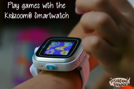 Play Games on the Kidizoom Smartwatch