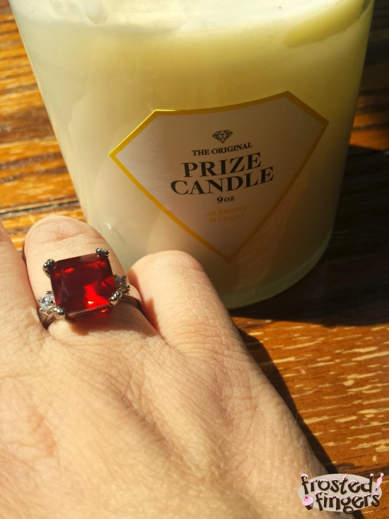 Prize Candle Ring #TMMPrizeCandle