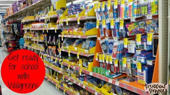 School Supplies at Walgreens #GiveAShot #cbias