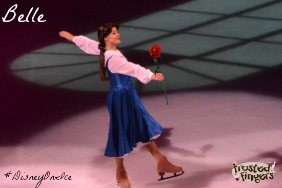 #DisneyOnIce #Chicago Belle from Beauty and the Beast