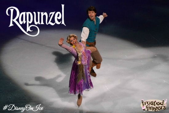 #DisneyOnIce #Chicago Rapunzel from Tangled