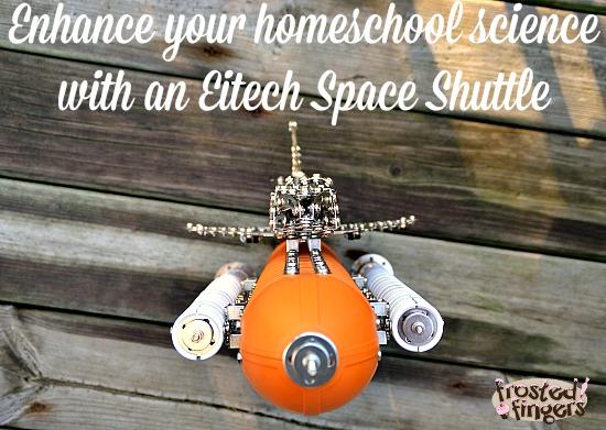 Eitech Space Shuttle #homeschool