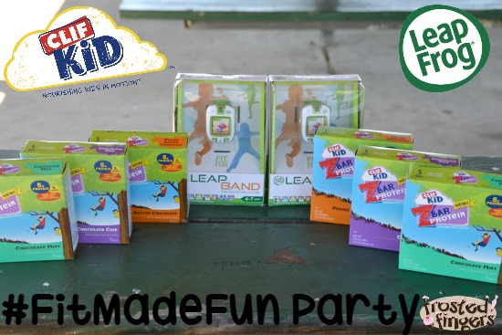 FitMadeFun Party with Leap Frog and CLIF Kid