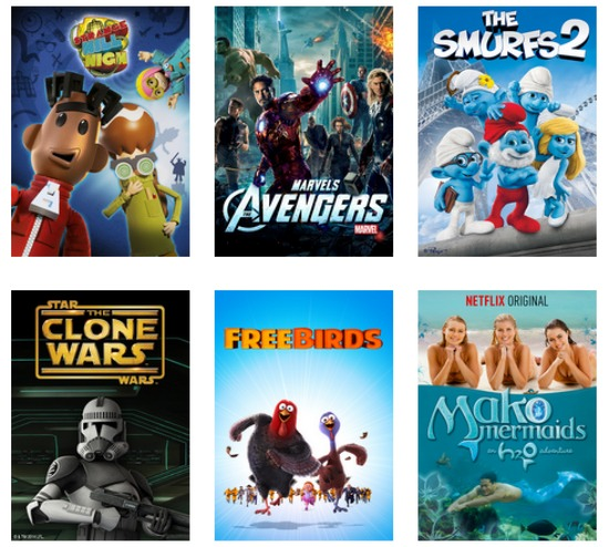Pizza and a movie night for older kids with Netflix #StreamTeam